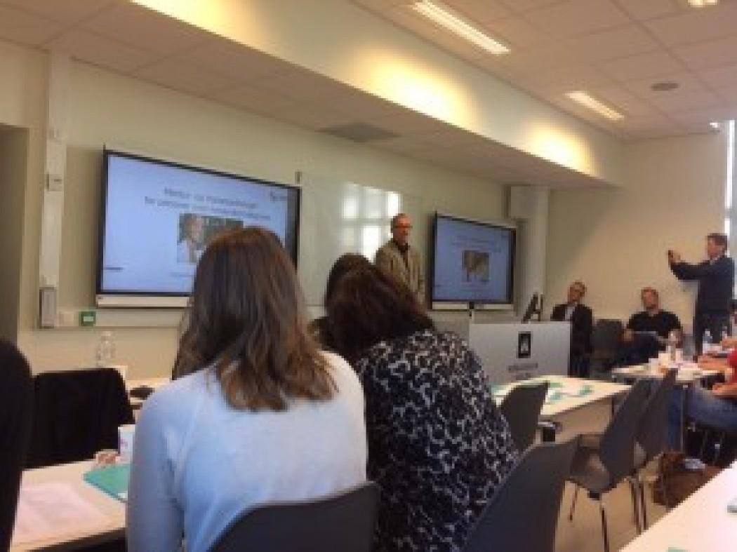 Inclusion, Høgskulen i Volda og Volda kommune med kick-off for mentorprogram for flyktningar