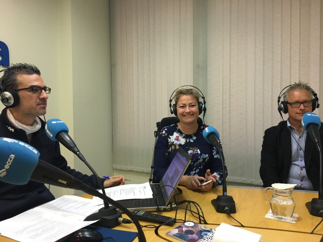 Visit to Radio Ecca in Las Palmas